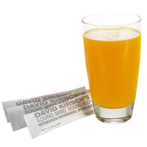 David Kirsch Wellness Vitamin Mineral Powder - Orange