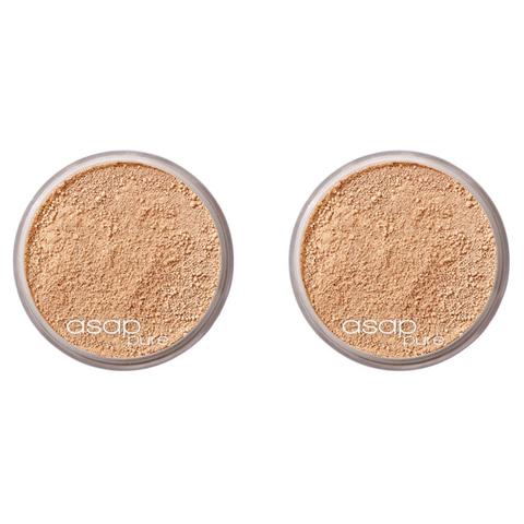 2x asap pure mineral makeup - three