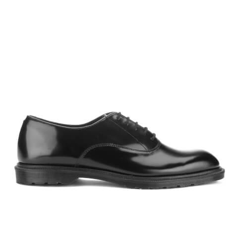 Dr. Martens Men's Fawkes Polished Smooth Oxford Shoes - Black