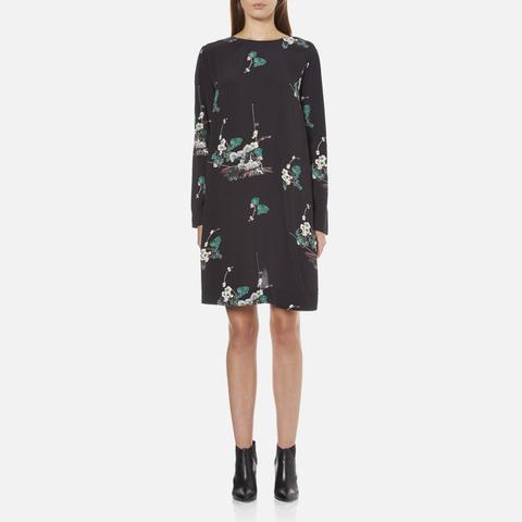 Samsoe & Samsoe Women's Boise Long Sleeve Dress - Hana Dark