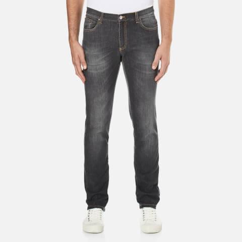 Versace Collection Men's 5 Pocket Jeans - Grigio Medio