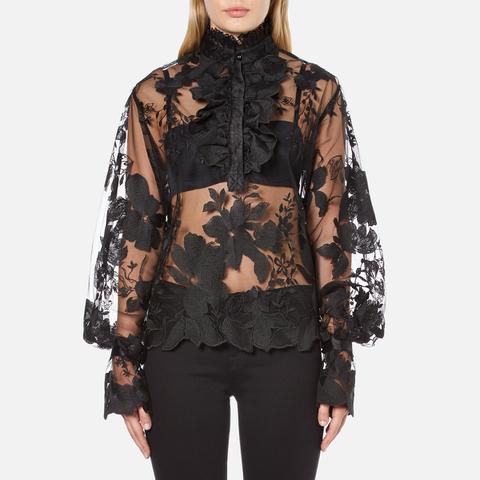 Three Floor Women's Parisian Shirt - Black