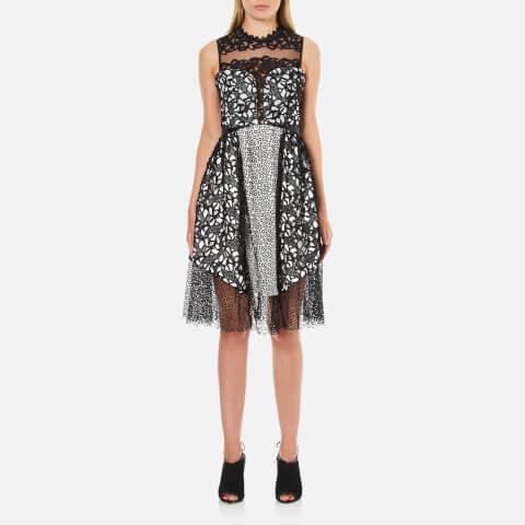 Three Floor Women's Shared Interest Dress - Black/White