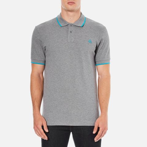 PS by Paul Smith Men's Regular Fit Polo Shirt - Grey
