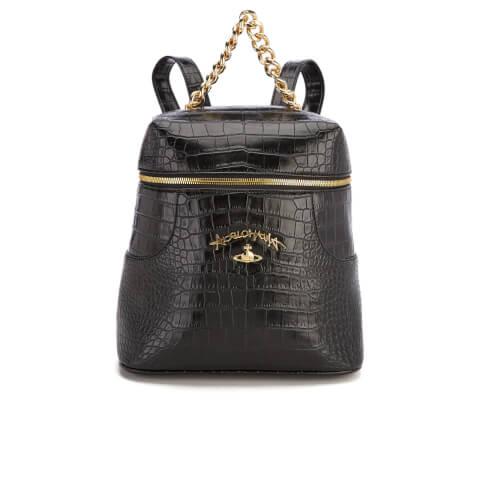 Vivienne Westwood Women's Dorset Croc Backpack - Black