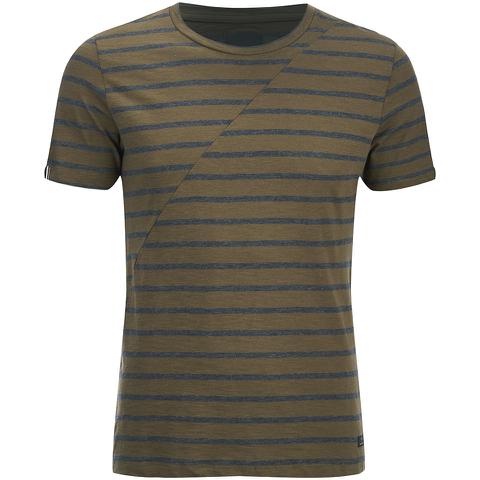 Produkt Men's Deko Asymetric Stripe T-Shirt - Beech