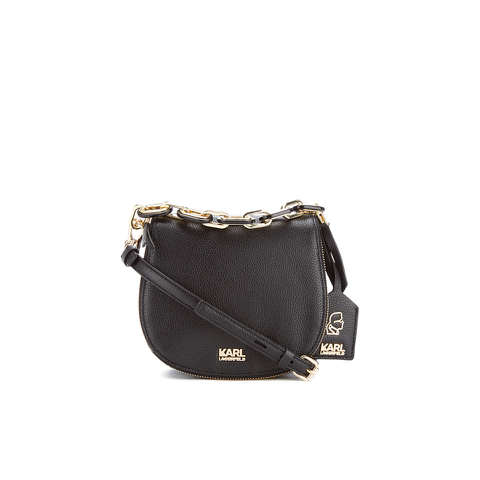 Karl Lagerfeld Women's K/Grainy Small Satchel - Black