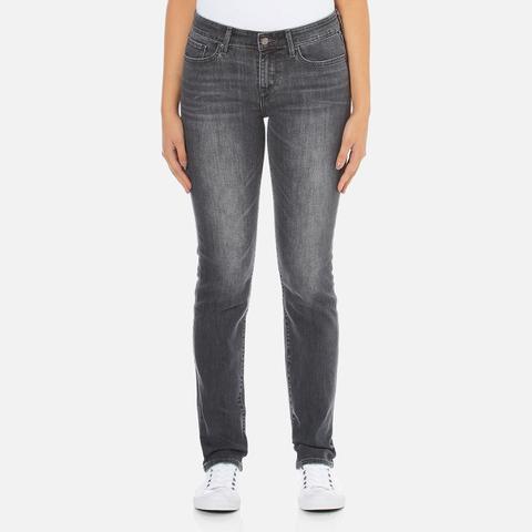 Levi's Women's 712 Slim Straight Fit Jeans - Burnt Ash
