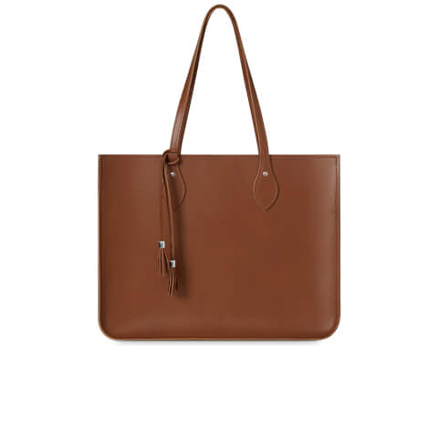 The Cambridge Satchel Company Women's The Tassel Tote with Magnetic Closure - Vintage