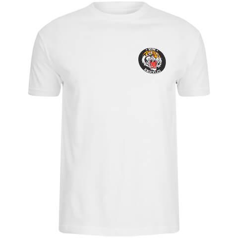 Rum Knuckles Men's Tiger T-Shirt - White