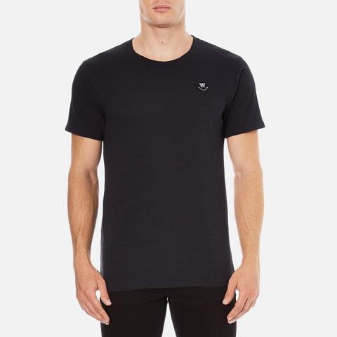 Wood Wood Men's Slater T-Shirt - Black