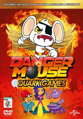 Danger Mouse Quark Games (Includes Battle Cards)