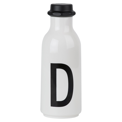 Design Letters Water Bottle - D