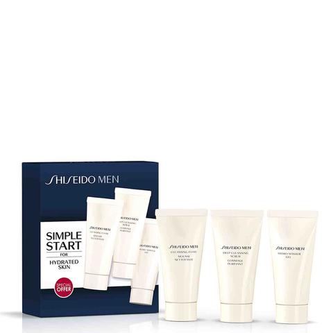 Shiseido Men's Cleansing Foam Starter Kit (Worth £22.72)