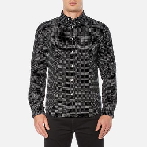 Edwin Men's Standard Shirt - Black/White