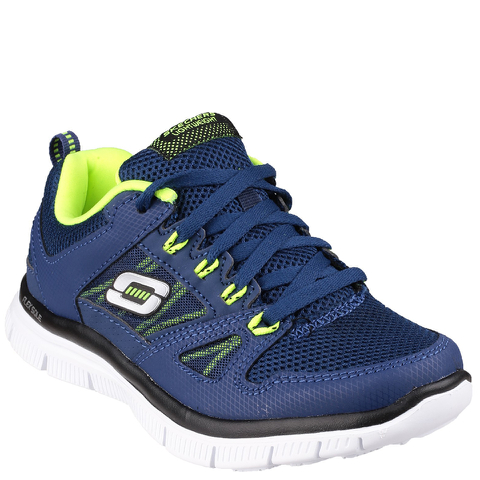 Skechers Kids' Flex Advantage Trainers - Navy