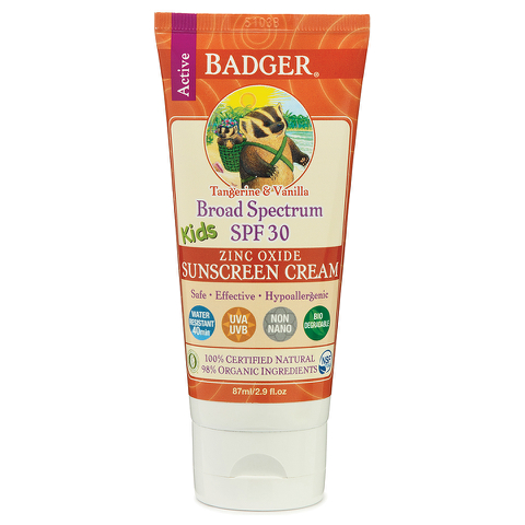 Badger Broad Spectrum Sunscreen SPF 30 87ml - Kids