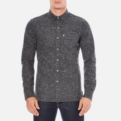 Levi's Men's Sunset 1 Pocket Shirt - Black Neppy