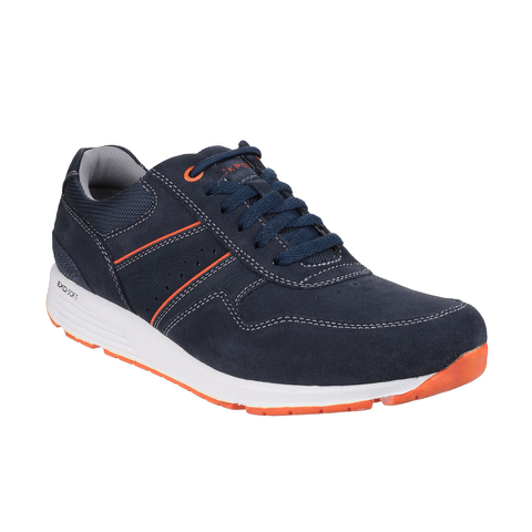 Rockport Men's Tru Stride Leather Trainers - Navy