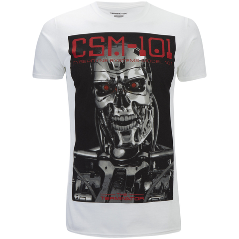 Terminator Men's CSM 101 T-Shirt - White
