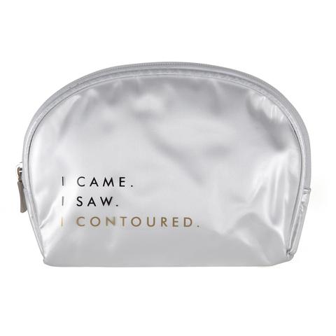 Contour Cosmetics Make Up Bag - I Came, I Saw, I Contoured