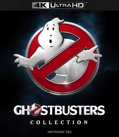 Ghostbusters 1-3 Collection (6 Disc 4K Ultra HD & Blu-Ray)