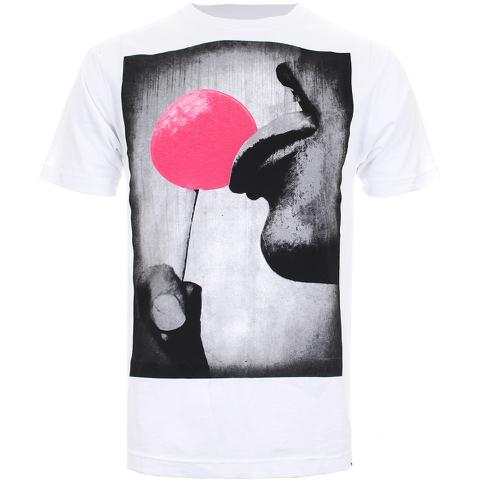 Cotton Soul Men's Lollypop T-Shirt - White