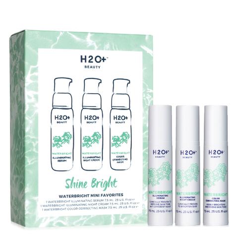 H2O+ Beauty Shine Bright Waterbright Mini Favourites