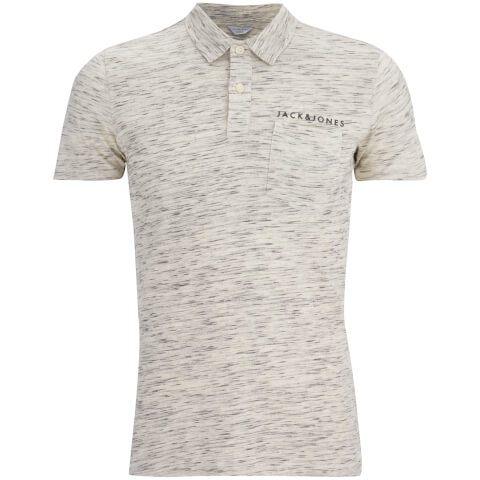 Jack & Jones Men's Core Barrett Polo Shirt - Blanc De Blanc