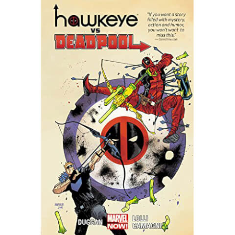 Hawkeye Vs. Deadpool Graphic Novel