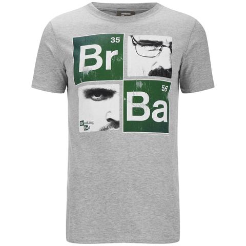 Breaking Bad Men's Square T-Shirt - Light Grey Marl