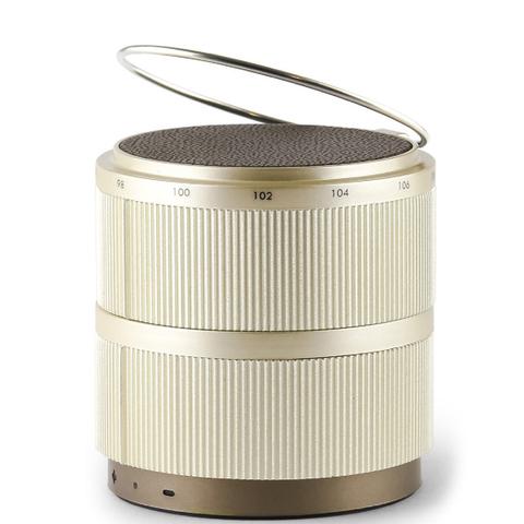Lexon Fine Rechargeable Radio - Gold