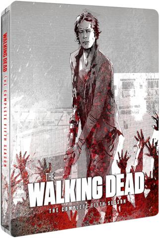 The Walking Dead Season 5 - Zavvi Exclusive Limited Edition Steelbook