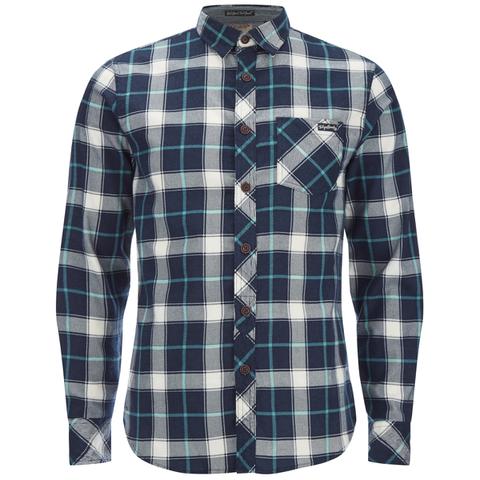 Tokyo Laundry Men's Callaghan Flannel Long Sleeve Shirt - Porcelain Green