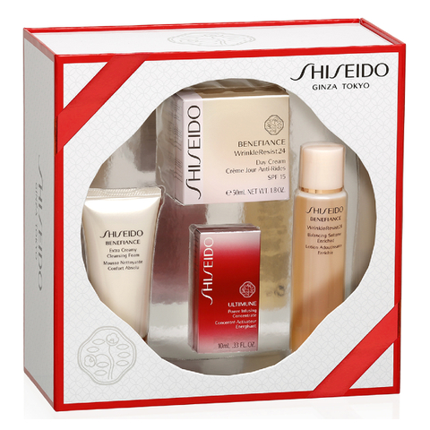 Shiseido Benefiance WrinkleResist 24 Cream Kit (Worth £124.00)