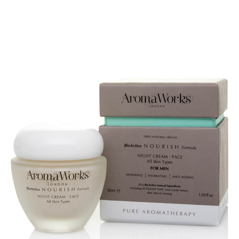 AromaWorks Men's Night Cream 50ml