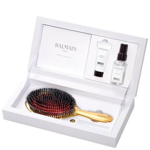 BALMAIN HAIR GOLDEN BRUSH SET