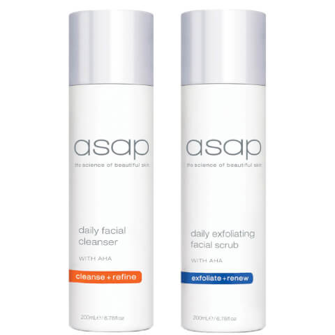 Asap Cleanser and Scrub Duo
