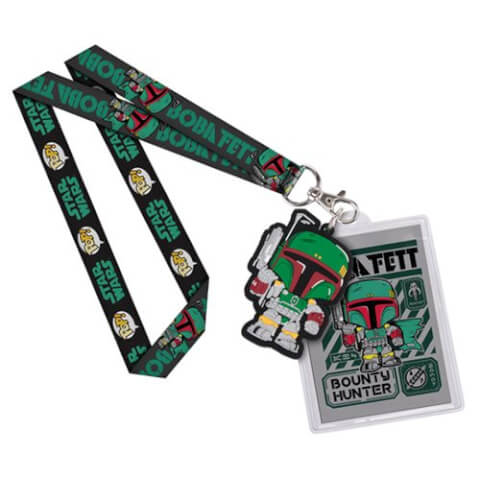 Star Wars Boba Fett Pop! Lanyard
