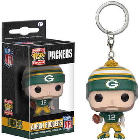 NFL Aaron Rodgers Pocket Pop! Sleutelhanger