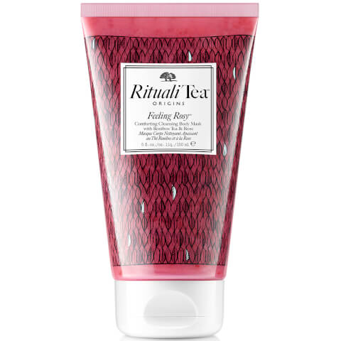 Origins RitualiTea Feeling Rosy Comforting Body Cleansing Mask with Rooibos Tea & Rose (150ml)
