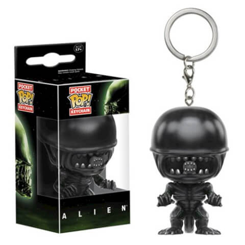 Alien Queen Pocket Pop! Key Chain