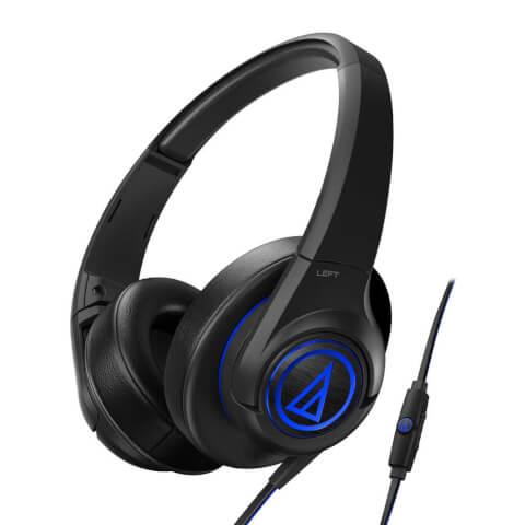 Audio-Technica SonicFuel ATH-AX5iS Headphones - Black