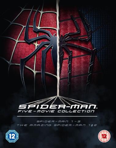 The Spider-Man Complete 5-Film Boxset