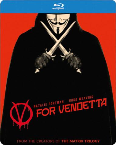 V For Vendetta - Zavvi Exclusive Limited Edition Steelbook