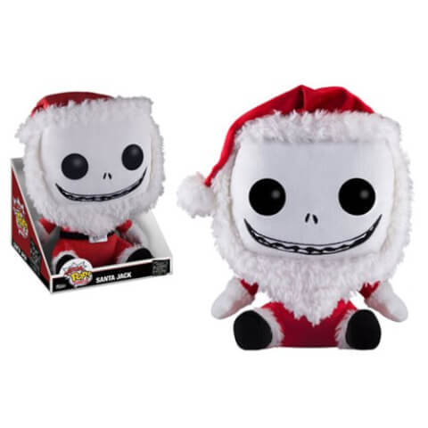 The Nightmare Before Christmas Santa Jack Mega Pop! Plush