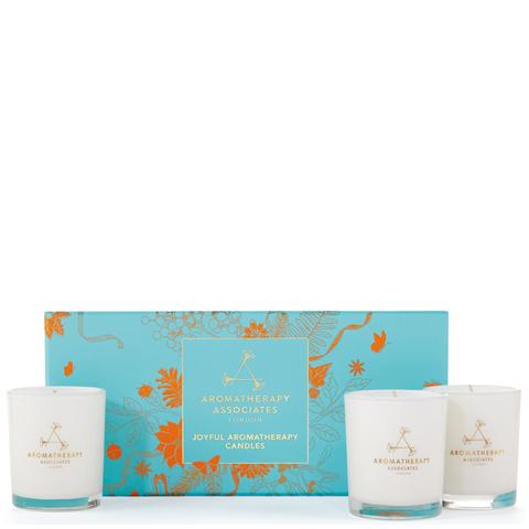 Aromatherapy Associates Joyful Aromatherapy Candles Christmas Set