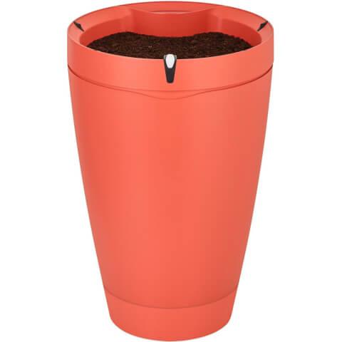 Parrot POT Self Watering Plant Pot - Brick Red