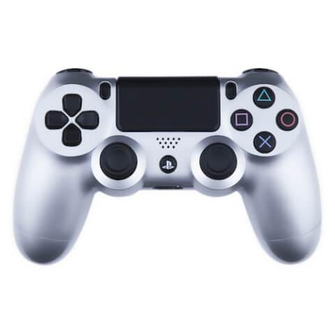 Playstation 4 Custom Controller - Gloss Silver Edition