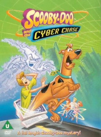 SCOOBY DOO AND THE CYBER CHASE ANIMATED DVD